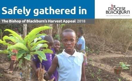 Harvest Appeal 2018 – Bishop Julian of Blackburn Diocese